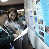Dilara OZER at EUCAPA 2014 poster session